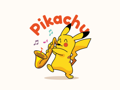 Saxophone Pikachu pokemon music pikachu saxophone
