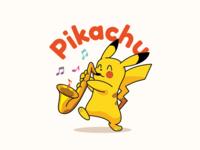 Saxophone Pikachu