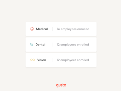 Product UI in Marketing | Gusto