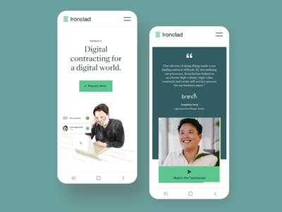 Ironclad | Mobile Web Design