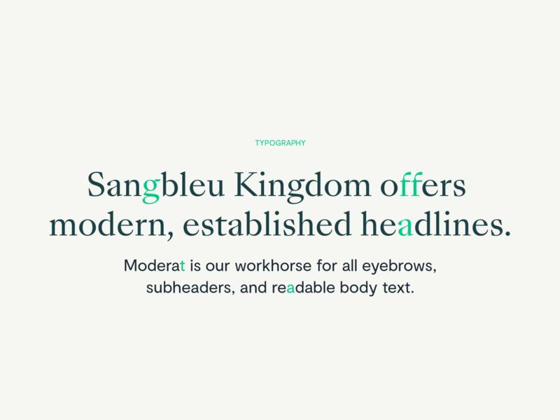 Ironclad | Typography Brand Direction sangbleu kingdom moderat type detail font type design brand design branding design art direction typedesign typogaphy