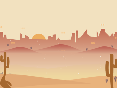 Yeehaw! A Western App Background sand mesa mountains sunset cactus western cowboy desert pastel background