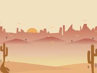 Yeehaw! A Western App Background