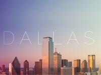 Dallas city banner