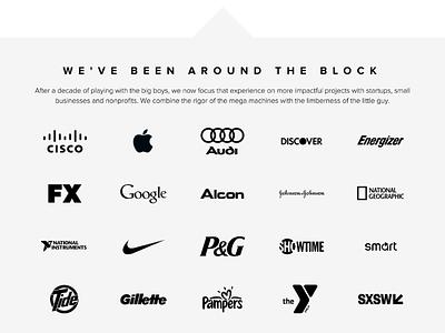 Client Logo Wall logos portfolio clients wall logo
