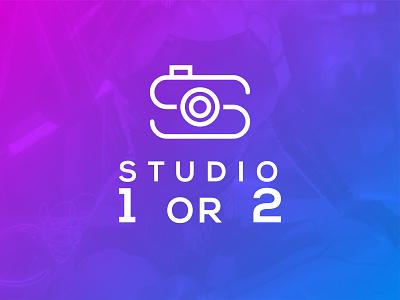 Cyberpunk Studio Brand Mark/Logo design vector flat company minimal icon brand mark cyberpunk studio graphic design branding logo