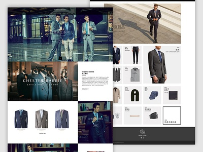 Chester Barrie Website