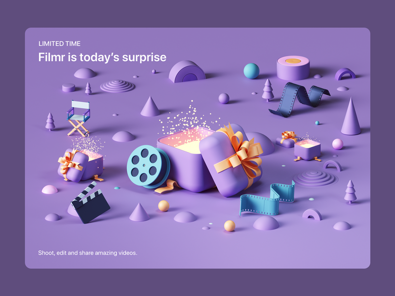 Apple- Six Days of Surprises tarka isometric webdesign octanerender octane abstract design illustration cinema4d c4d 3d ios appstore web ux uiux ui ipad iphone apple