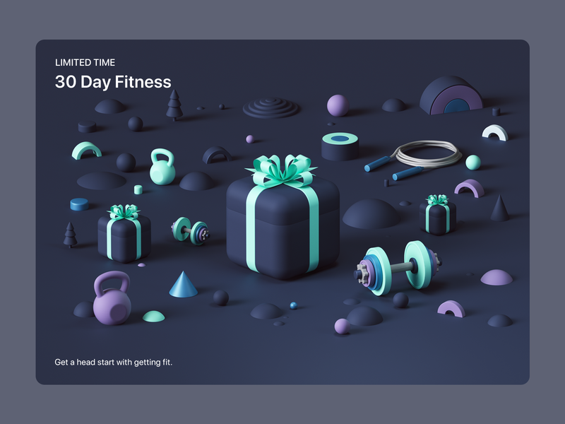Apple- Six Days of Surprises web ux uiux ui render octanerender octane isometric ios illustration geometric design colors cinema4d c4d appstore apple app abstract 3d