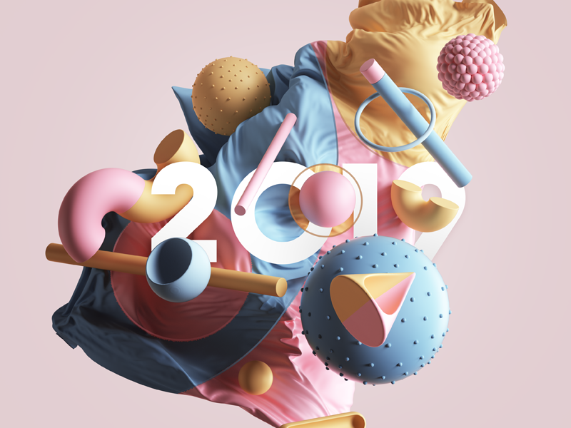 2019 vray photoshop colors geometry adobe motion abstract geometric print animation cinema4d cgi render set design illustration c4d 3d