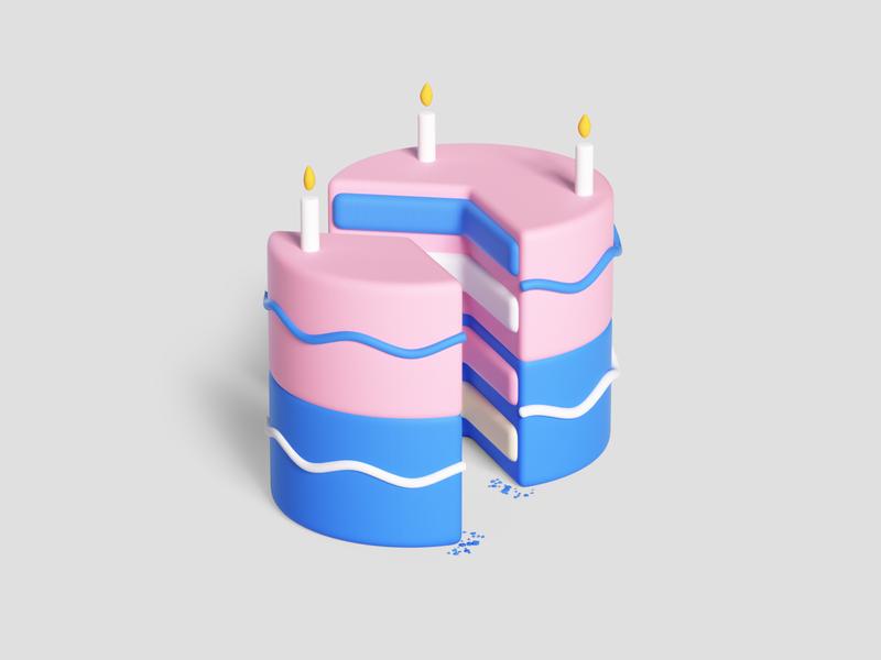 Google- Two Step Verification isometric render octanerender octane web uiux ui google cake photoshoot design photoshop colors adobe abstract geometric cinema4d illustration c4d 3d