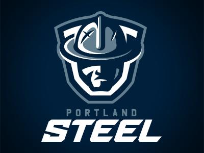 Portland Steel Identity Concept pdx football arena steel portland