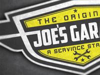 Joes Garage Logo