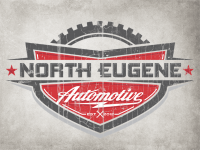 North Eugene Automotive Logo by Justin Wilkinson ...