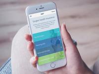 Health Insurance Mobile Design
