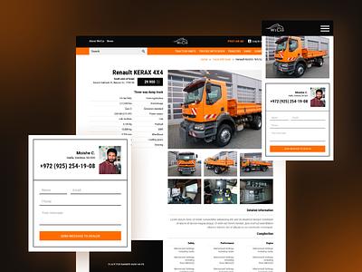 WeCar website uxdesign ux  ui uxui ui design uidesign ui  ux uiux website design web design web webdesign way tractor track car website ideas design ux ui