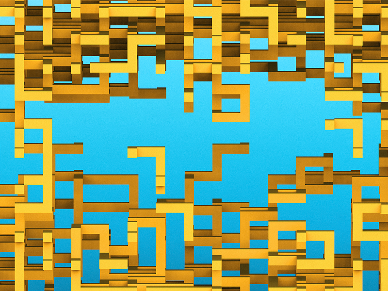 Procedural generation #2 by Anatoly Terentev on Dribbble