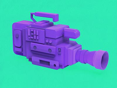 Filmmaker lowpoly flat modeling clay clayrender render 3d filmmaker camera film tolitt