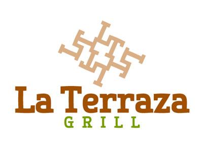 La Terraza Grill Logo logo logotype logo design