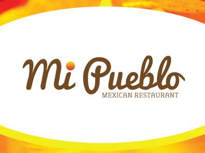 Mi Pueblo Menu restaurant menu design graphic design