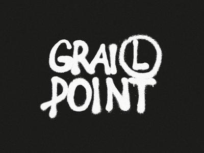Grail Point x Legia graffiti logo typogaphy merchandise streetwear merch warszawa legia point grail