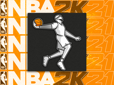 NBA 2K21 Training Camp icon illustraion pictogram ui icon nba2k21 basketball nba
