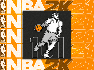 NBA 2K21 Training Camp icon nba2k21 nba icon ui basketball pictogram illustration