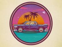 Vintage Chevrolet illustration