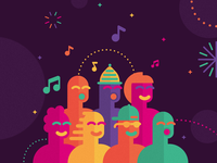 New Year's Eve Wroclaw -choir