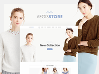 Aegis Store - Ecommerce Template