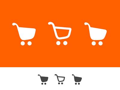 Shopping Carts shopping cart shopping icons icons simple e-commerce