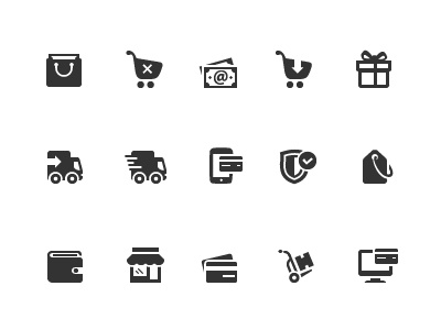 Shopping Icons 1 shopping icons icons icon ecommerce