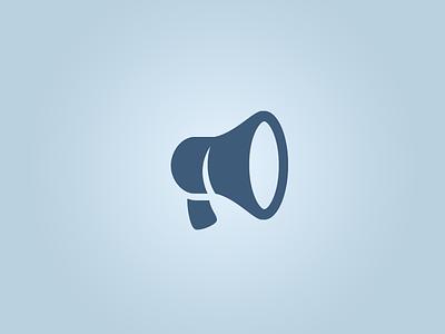 Megaphone megaphone icon glyphs social