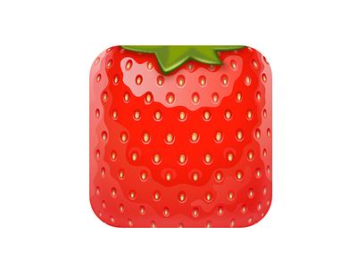 Crushing Berries Icon ios icon game strawberry fruit berry crushing berries
