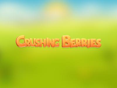 Crushing Berries Logo  logo crushing berries iphone game ios app