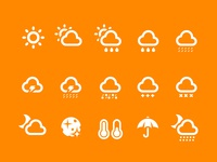 Weather icons 2