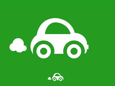 Smal Car icon car icon pixel symbol auto eco