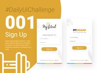 Daily UI challenge - 001