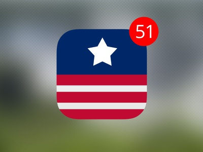 Rebound to an old playoff... ios7 icon puerto rico flag