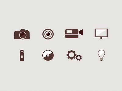 Micro-site Icons