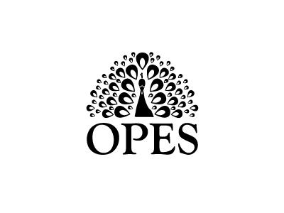 Opes peacock logo