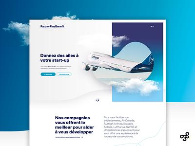 Lufthansa designinspiration graphic userinterface webdesign entrepreneurship agenceweb agence entreprise entrepreneur design graphic design digitaldesign