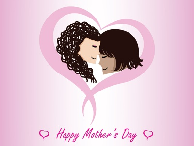 Mother's Day 2021 dribbbleweeklywarmup love mothersday illustrator illustration