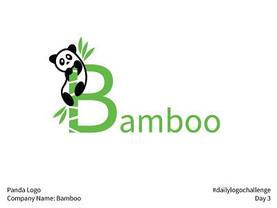 #dailylogochallenge - Day 3 bamboo panda dailylogochallenge logo design logo mark logo illustration