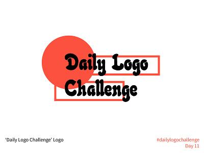 #dailylogochallenge - Day 11 #LOGODLC dailylogochallengelogo logodlc dailylogochallenge wordmark logo mark logo design logo