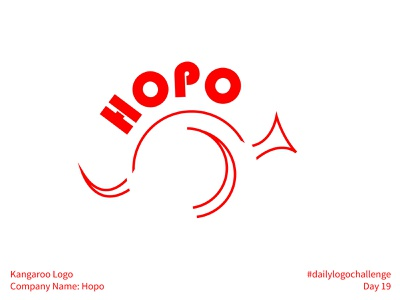 #dailylogochallenge - Day 19 vector geometric plain dailylogochallenge bauhaus linework jump hop hopo line art minimal simple kangaroo logo kangaroo logo design logo logotype logo mark
