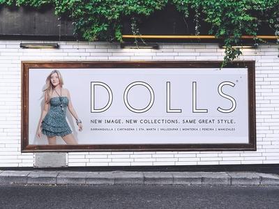 Dolls Advertising