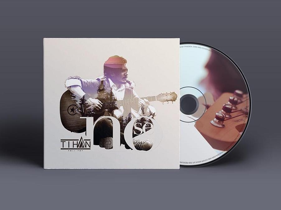 Tihan CD cover cd cd artwork cd packaging cd design cd cover singer cover artwork music