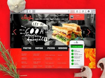 Chuz Web app