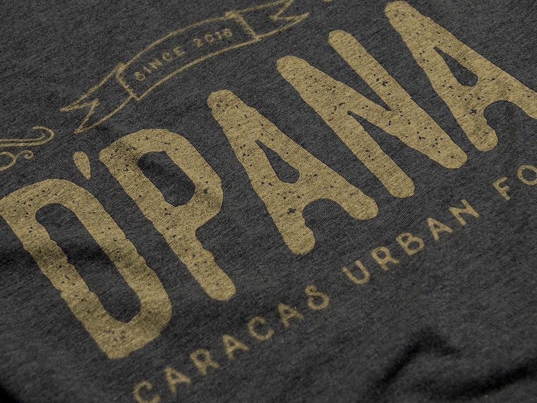 D'PANA Urban Food Identity idenity vintage logo branding vintage grunge urban food